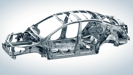2020 Subaru WRX and WRX STI Advanced Ring-Shaped Reinforcement Frame