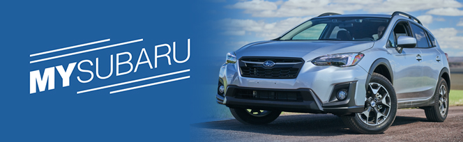 Sign Up for MySubaru